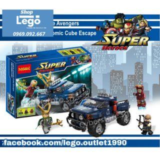 Xếp hình Decool 7101 Loki's Cosmic Cube Escape