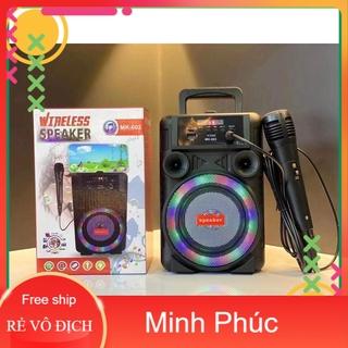 Loa Bluetooth Karaoke MK-602 (Tặng kèm micro)