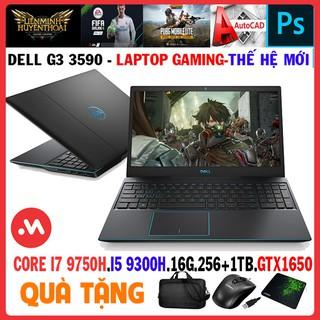laptop Dell G3 15 3590 - core i7 9750h, laptop gaming cũ chơi game và đồ họa - Hàng nhập khẩu USA thumbnail