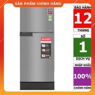 [BMART] SJ-X176E-SL | SJ-X176E-DSS | Tủ lạnh Sharp Inverter 165 lít - HÀNG CHÍNH HÃNG