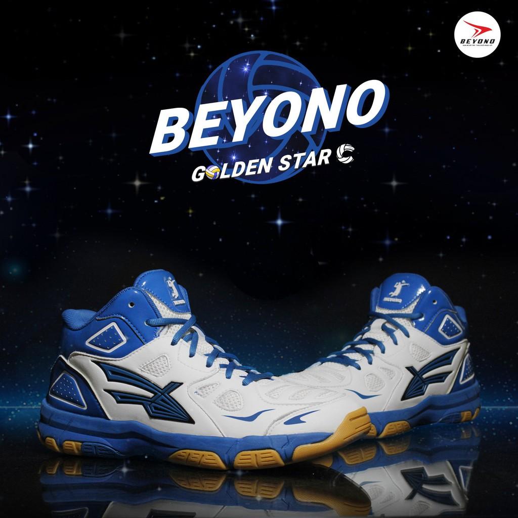 Giày Bóng Chuyền Beyono Golden Star C - White Blue