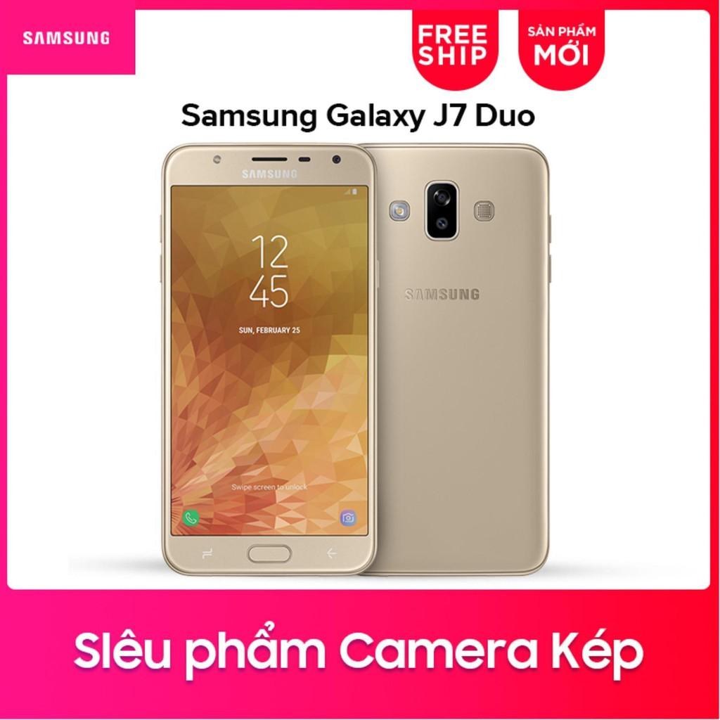 Điện thoại Samsung Galaxy J7 Duo 32GB - Hãng phân phối chính thức