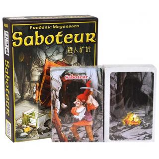 Saboteur Card Game Family Party Puzzle Game