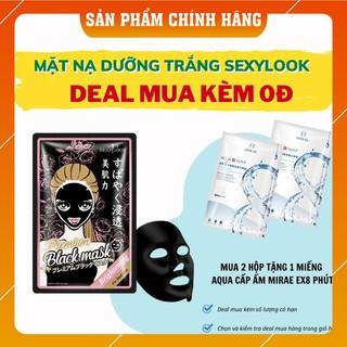 Mặt Nạ Đen SEXYLOOK Hoa Hồng Dưỡng Trắng Chuyên Sâu 28ML ( Miếng Lẻ ) thumbnail