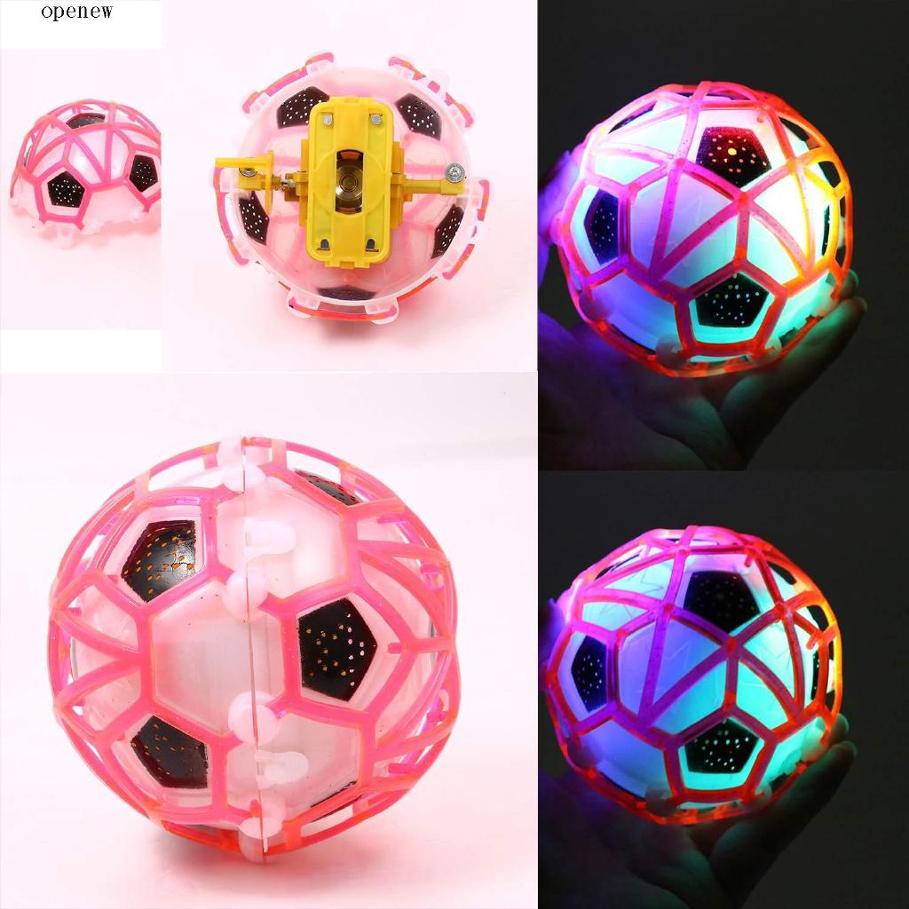 op Crazy Colorful Electric Novelty Dance Light Up Football Funny Toys