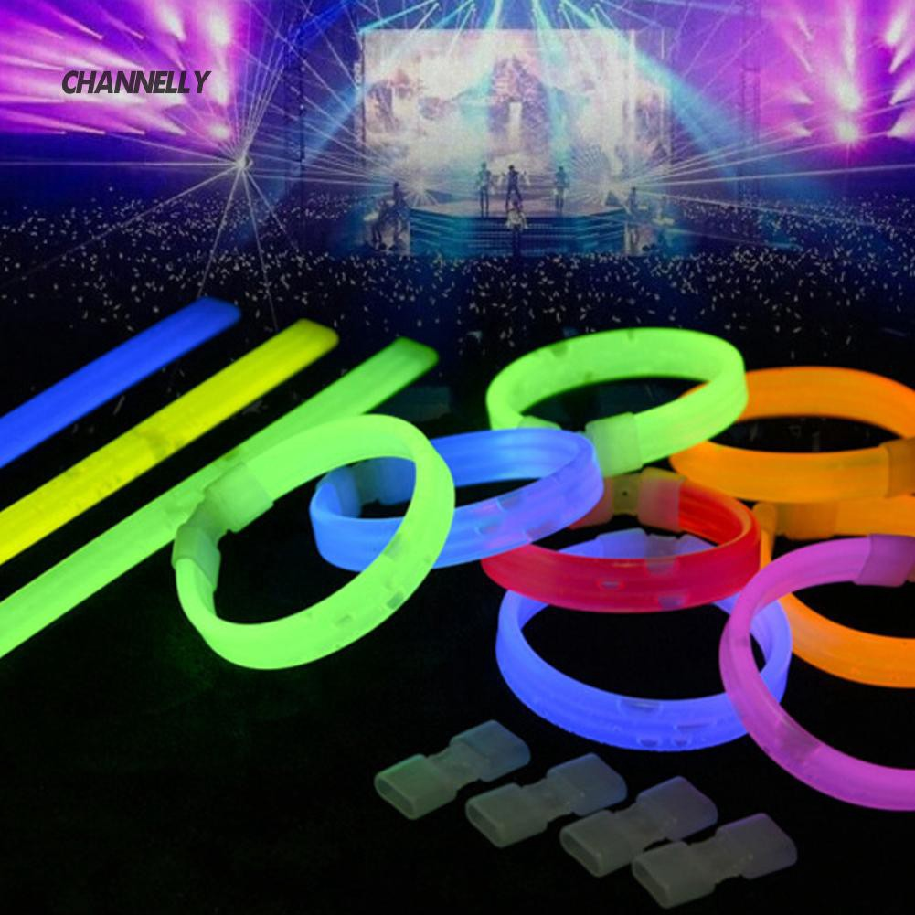 ■Cy Night Running Concert Party Luminous Fluorescent Unisex Wristband Bracelet