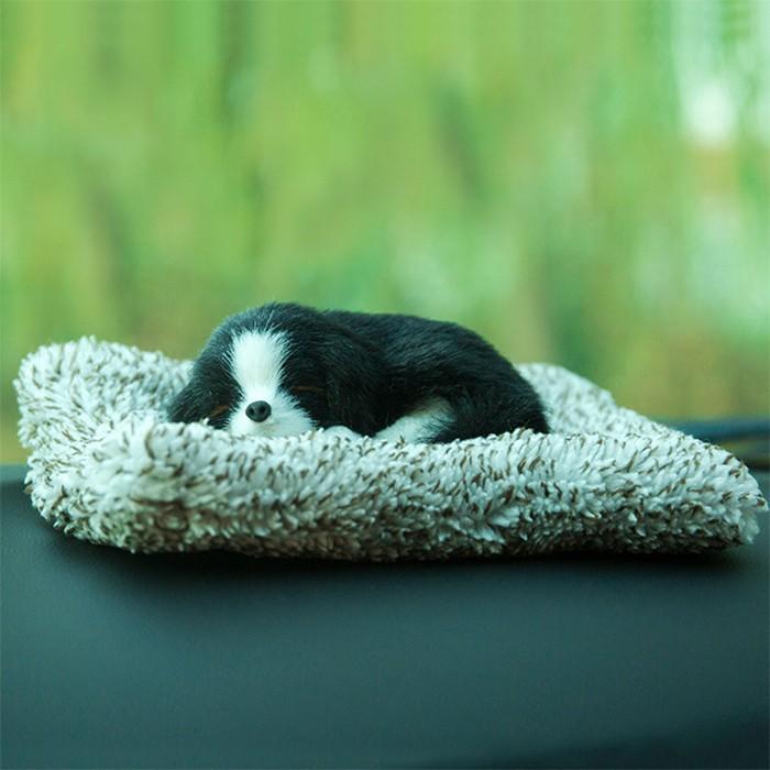 Chó Trang Trí Trên Ô Tô size nhỏ, Văn Phòng, Nhà Décor (Màu Sắc Ngẫu Nhiên)