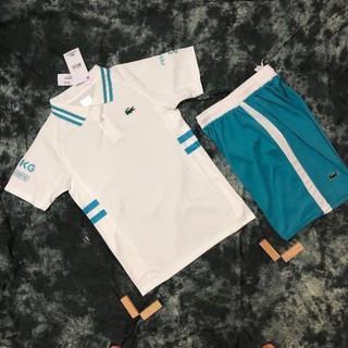 Bộ thể thao nam Tennis Lacoste. Bộ đồ quần áo nam cao cấp mẫu hot nhất hè 2021