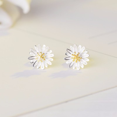 (SALE) Bông tai bạc hoa cúc nhiều cánh Hàn Quốc  - 22470527 , 1786818047 , 322_1786818047 , 110000 , SALE-Bong-tai-bac-hoa-cuc-nhieu-canh-Han-Quoc--322_1786818047 , shopee.vn , (SALE) Bông tai bạc hoa cúc nhiều cánh Hàn Quốc