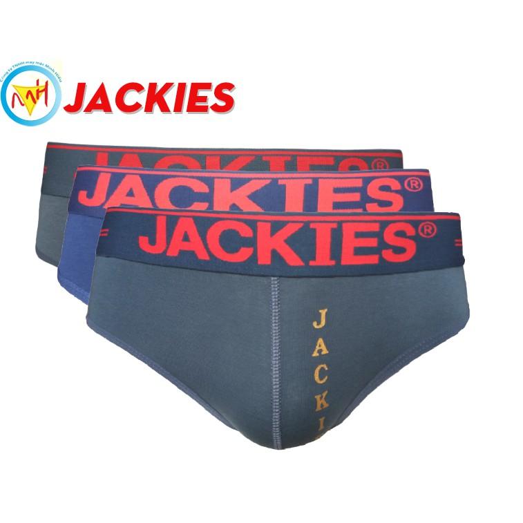 Bộ 3 Quần lót nam cao cấp Jackies - In nổi 906 - 3474423 , 749188239 , 322_749188239 , 168000 , Bo-3-Quan-lot-nam-cao-cap-Jackies-In-noi-906-322_749188239 , shopee.vn , Bộ 3 Quần lót nam cao cấp Jackies - In nổi 906