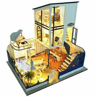 Mô hình nhà gỗ búp bê dollhouse DIY – TB11 Starlight Waitz