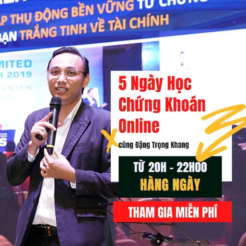 Toàn quốc- [E-voucher] Khóa học Online Tự do tài chính cùng chứng khoán nhân quả - GV Đặng Trọng Khang