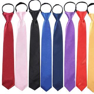 Cà vạt khóa kéo mặc đồng phục tiện dụng cho nam thumbnail