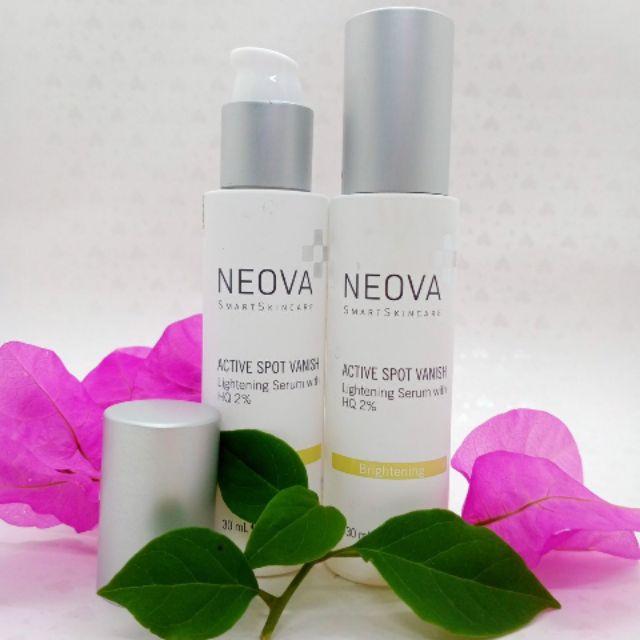 Tinh chất trắng da mờ thâm sạm Neova HQ 2%
