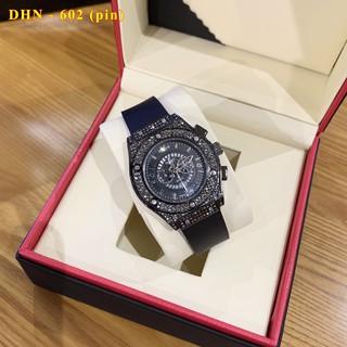 Đồng hồ nam nữ Hulo - đồng hồ unisex cặp đôi dây cao su có bảo hành 12tháng - Shop64 thumbnail