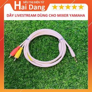 Dây Livestream, Chuyên Dụng Cho Mixer F4, F7, G4, M4, Chất Lượng Cao - Âm Thanh Stereo - Chuyên Thu ÂM thumbnail