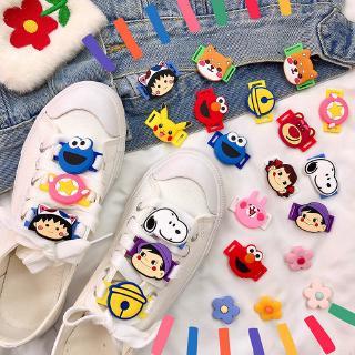 Phụ kiện giữ dây giày phong cách hoạt hình dễ thương thumbnail