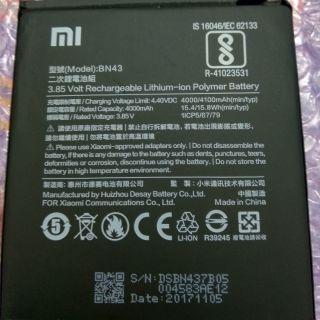 Pin xiaomi redmi note 4x zin chính hãng mới 100% mã BN43