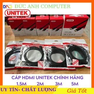 Cáp HDMI ✨Free Ship✨ Cáp HDMI UNITEK Ultra 4k 1,5M✨3M✨5M- Chống Nhiễu Cực Tốt- Hàng Chính Hãng Bảo Hành 12 Tháng