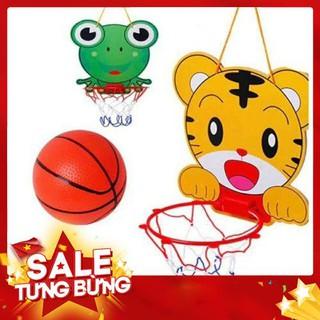 [siêu sale] Bộ đồ chơi khung bóng rổ và đầy đủ phụ kiện chơi bóng rổ