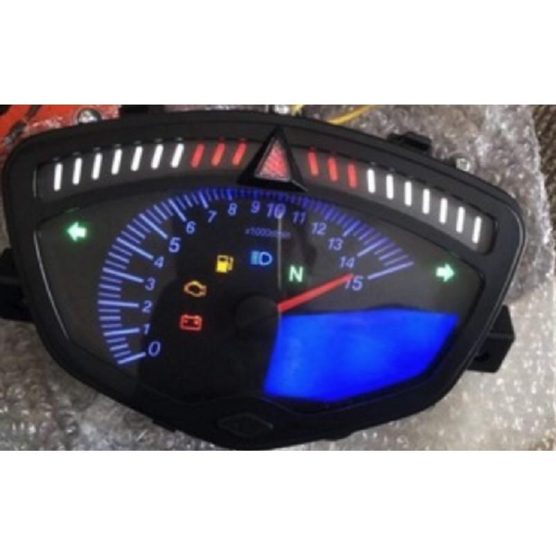 Đồng hồ xe máy điện tử Koso Ex 2010 , Sirius Vindecal BD