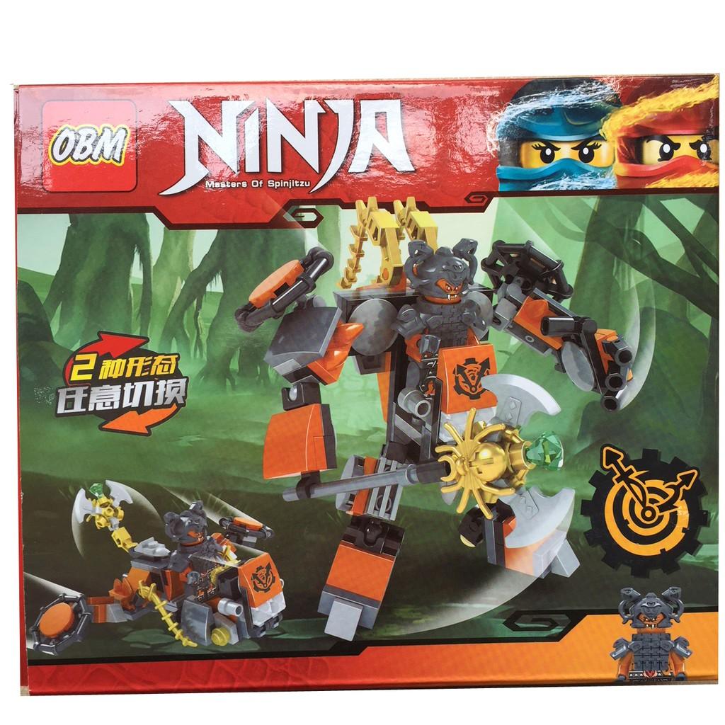 Lego xếp hình Ninja 2 trong 1