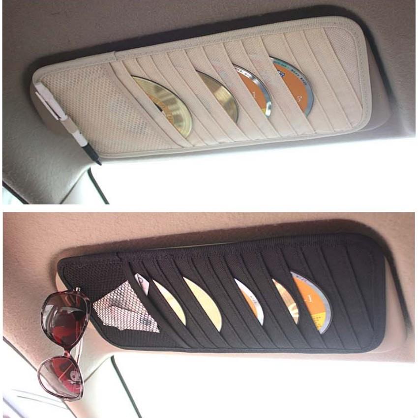 Bộ 2 Túi Kẹp Đĩa CD trên xe Ô tô 206055-1