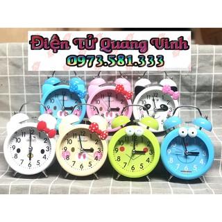 Đồng hồ báo thức để bàn chuông reo lớn cute thumbnail