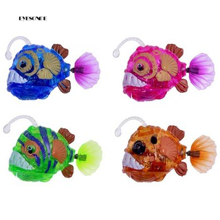 ♕Simulation Electronic Swimming Fish Flash LED Light Children Baby Bath Toy