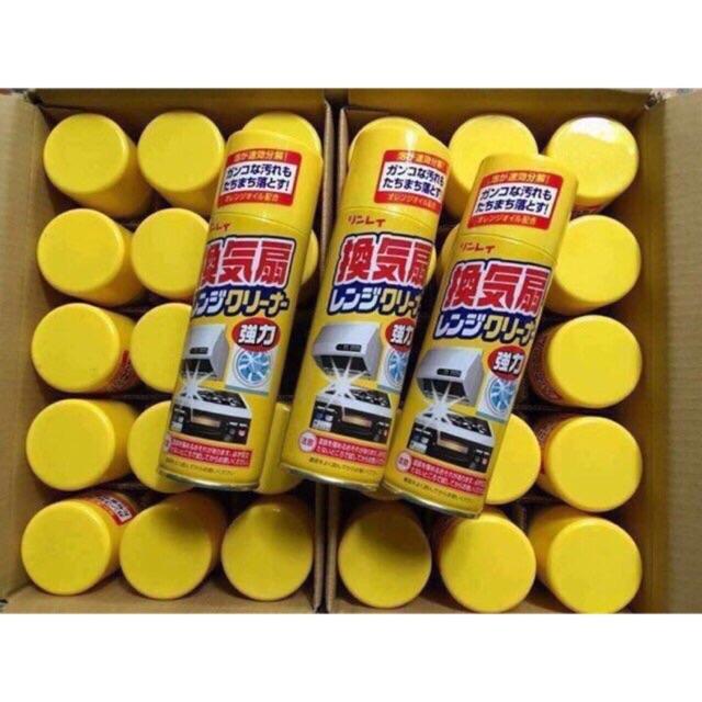 Chai Xịt tẩy rửa dầu mỡ Rinrei 330ml Nhật Bản