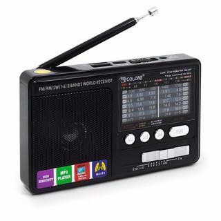 Máy radio cầm tay nghe nhạc mp3 usb thẻ nhớ RX Sóng tốt