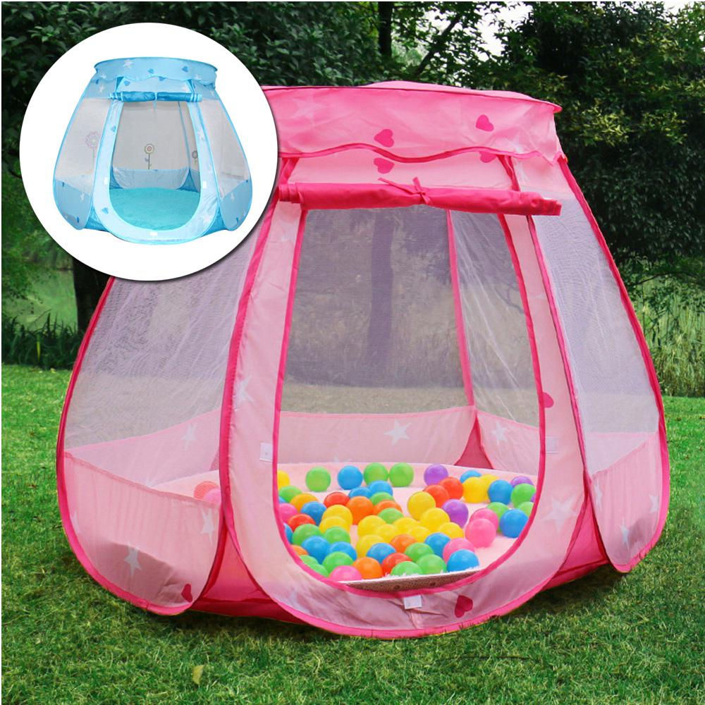 kids tulle tent