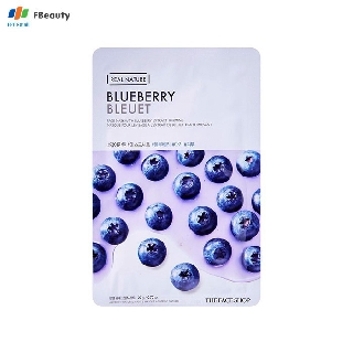 Mặt Nạ Cải Thiện Độ Đàn Hồi Da The Face Shop Real Nature Blueberry Face Mask 20ml