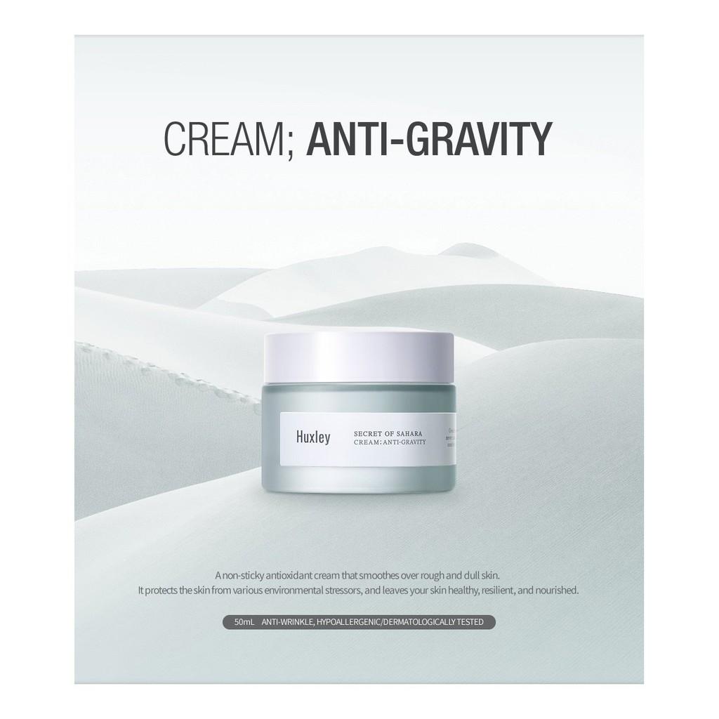 [DATE 12/2020]Kem dưỡng chống lão hóa nâng cơ vượt trội Huxley Secret of Sahara, Anti-Gravity Cream