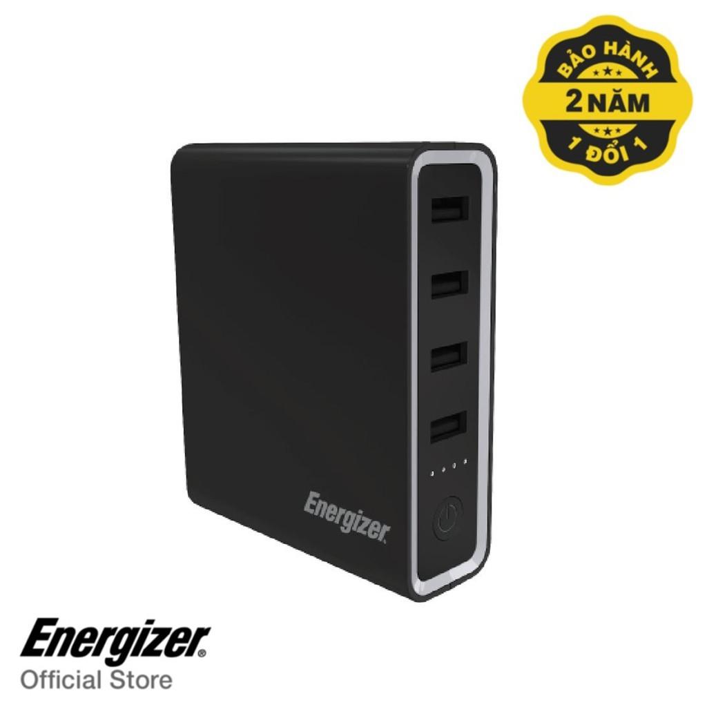 Pin sạc dự phòng Energizer 20,000mAh màu đen - XP20001PDBK (Hỗ trợ Macbook & Laptop TypeC PD)- Hàng