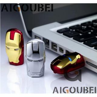 [Spot & COD] USB2.0 Cute Metal Metal Iron Man USB Flash Drive Thumb Memory Stick USB Flash Drive 1GB 2GB 4GB 8GB 16GB 32GB 32GB 64GB Thích hợp cho Máy tính xách tay / Máy tính.