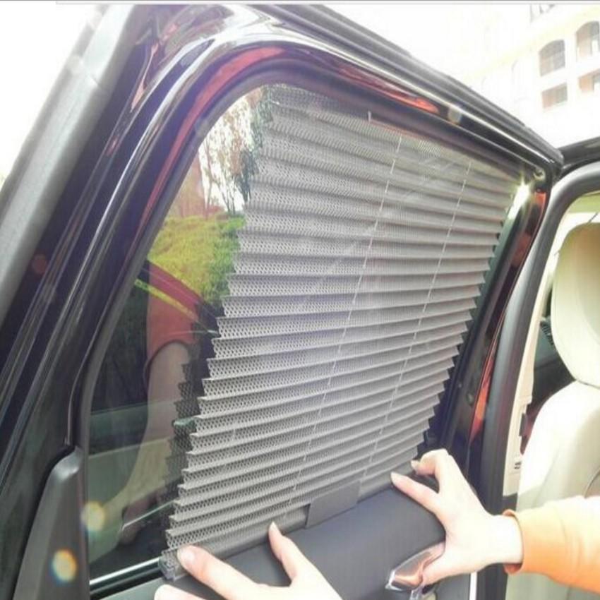 Chắn nắng thông minh tự động lên xuống theo cửa ô tô 206057-2 (kem)