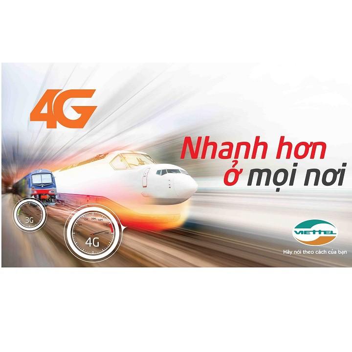 Combo Sim 4G Viettel trọn gói 1 năm (4 Gb/tháng) + Bộ phát Wifi ZTE MF70