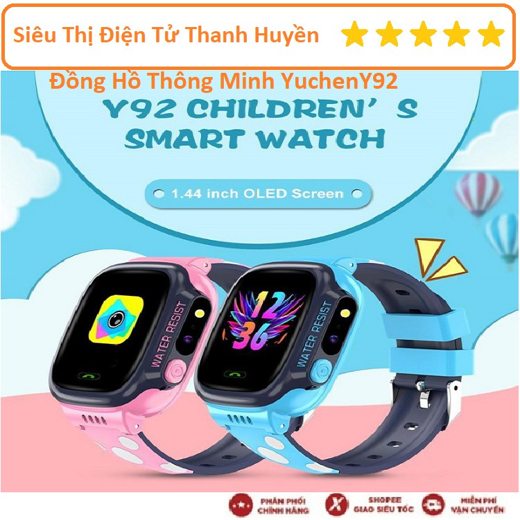 Đồng Hồ Thông Minh, Màu Sắc Đẹp Phù Hợp Với Trẻ Em, Có Định Vị GPS, Hiện Thị Tiếng Việt, Nghe Gọi 2 Chiều