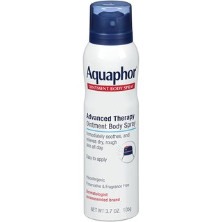 Xịt khoáng toàn thân làm dịu da khô, ngứa, mẩn đỏ Aquaphor Ointment Body Spray 105g