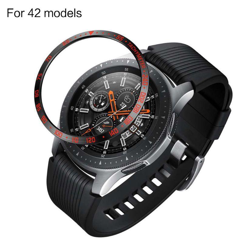 Vòng bảo vệ viền mặt đồng hồ bằng kim loại cao cấp cho Samsung Galaxy Watch 46mm R800/42mm R810