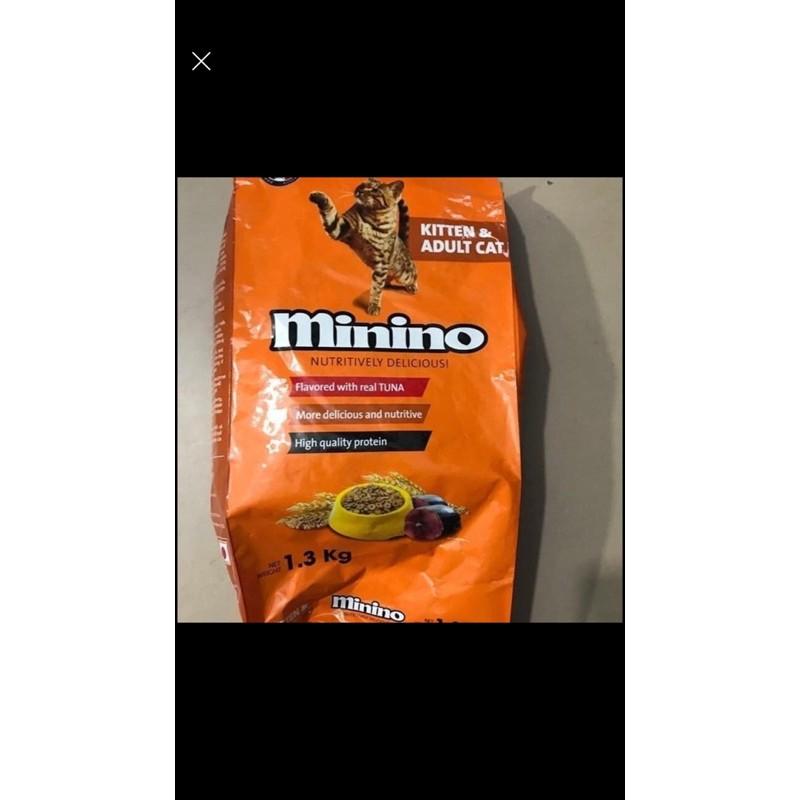 [Mã 267FMCGSALE giảm 8% đơn 500K] Thức ăn hạt cho mèo Minino 1,3kg