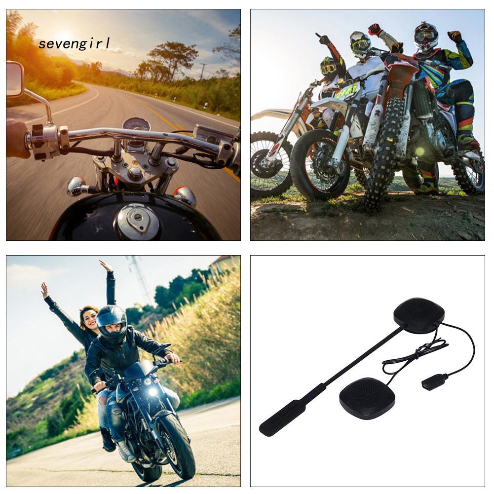 Tai nghe liên lạc Bluetooth svgl _ gắn nón bảo hiểm cho người đi xe máy
