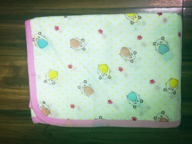 Khăn tắm xô 6 lớp in hình họa tiết xuất Nhật