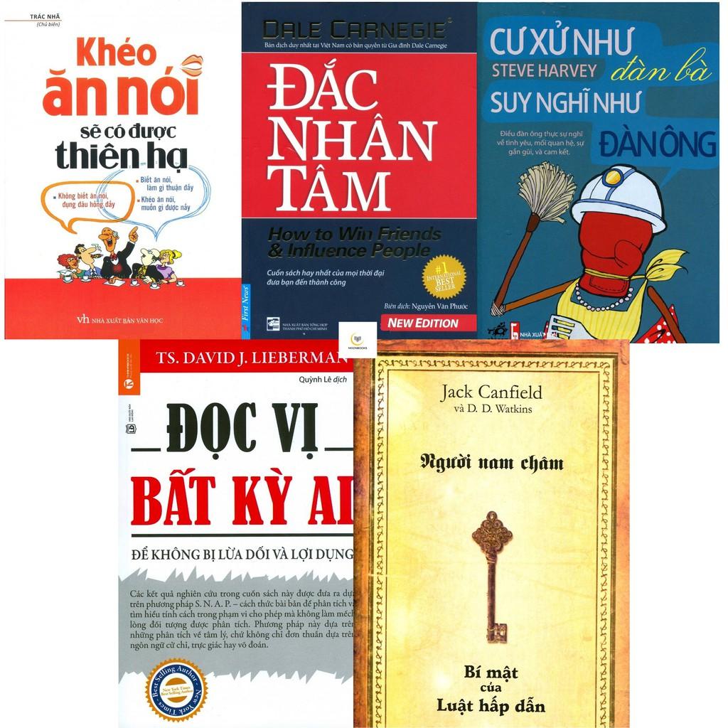 Combo Sách Khéo Ăn Nói, Đắc Nhân Tâm, Cư Xử Như Đàn Bà, Đọc Vị Bất Kỳ Ai, Người Nam Châm - 2718744 , 949777265 , 322_949777265 , 392000 , Combo-Sach-Kheo-An-Noi-Dac-Nhan-Tam-Cu-Xu-Nhu-Dan-Ba-Doc-Vi-Bat-Ky-Ai-Nguoi-Nam-Cham-322_949777265 , shopee.vn , Combo Sách Khéo Ăn Nói, Đắc Nhân Tâm, Cư Xử Như Đàn Bà, Đọc Vị Bất Kỳ Ai, Người Nam Châm