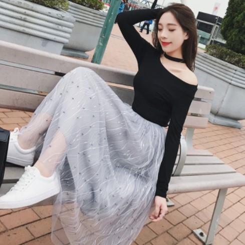 Chân váy công chúa dài phối ren đính cườm, cạp cao thun mềm 3 lớp - 2683943 , 1059934838 , 322_1059934838 , 275000 , Chan-vay-cong-chua-dai-phoi-ren-dinh-cuom-cap-cao-thun-mem-3-lop-322_1059934838 , shopee.vn , Chân váy công chúa dài phối ren đính cườm, cạp cao thun mềm 3 lớp