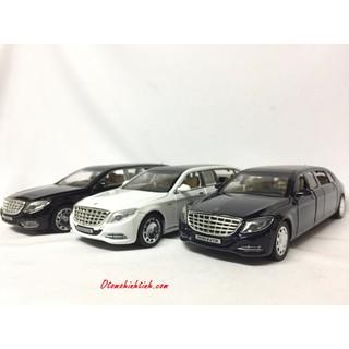 Đồ chơi xe Mô hình Mercedes-Maybach S650 Pullman 1:32