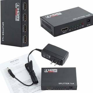 [Mã ELFLASH5 giảm 20K đơn 50K] Bộ chia HDMI 1 ra 4 – HDMI Splitter 1x4.