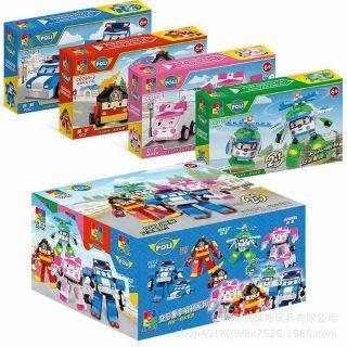 Bộ đồ chơi xếp hình Đội bay siêu đẳng