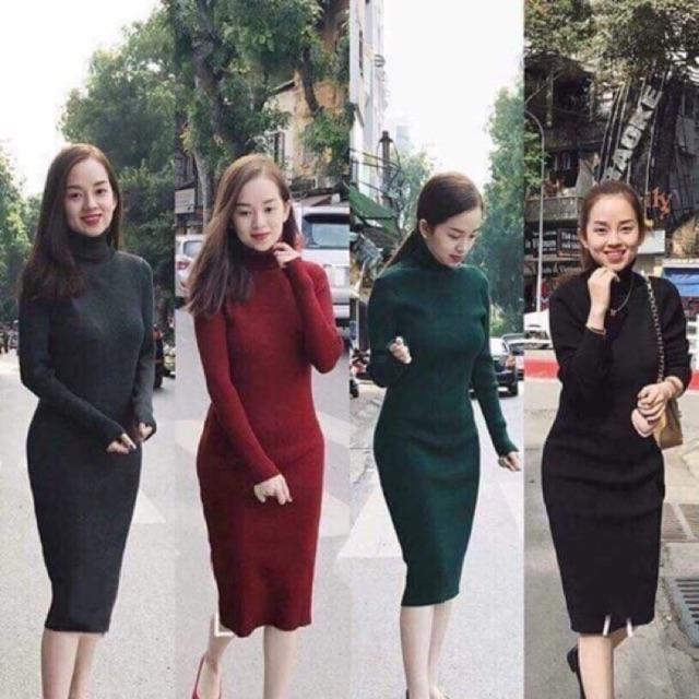 Váy len body cổ lọ dáng dài (Có sẵn số lượng) - 13600325 , 712722684 , 322_712722684 , 250000 , Vay-len-body-co-lo-dang-dai-Co-san-so-luong-322_712722684 , shopee.vn , Váy len body cổ lọ dáng dài (Có sẵn số lượng)